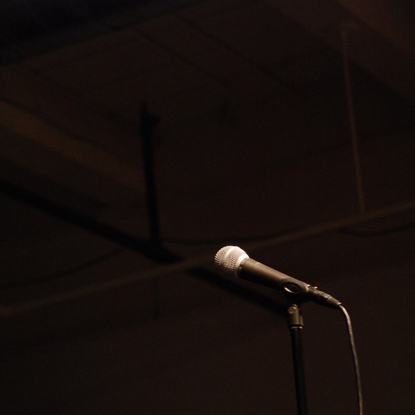 Empty stage - Comedy