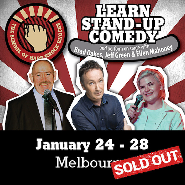 Learn stand-up comedy with Jeff Green in Melbourne - Sold out