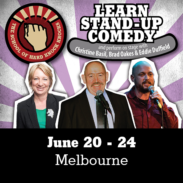 Learn stand-up comedy this June in Melbourne